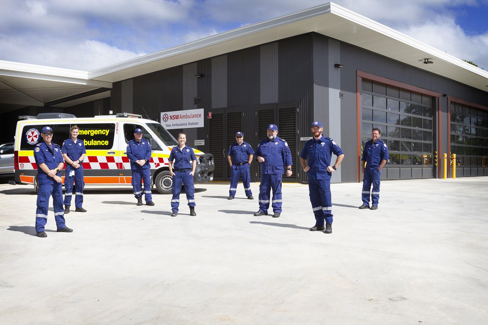 Yass RAIR Ambulance Station officially opened