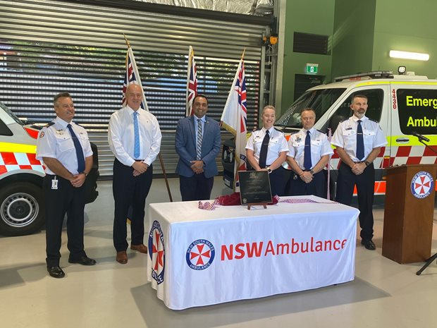 Sawtell Ambulance Station officially open