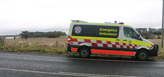 Construction complete at new Goulburn NSW Ambulance Station