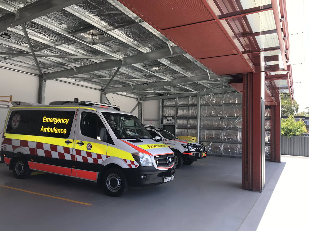 Toukley Ambulance Station Complete