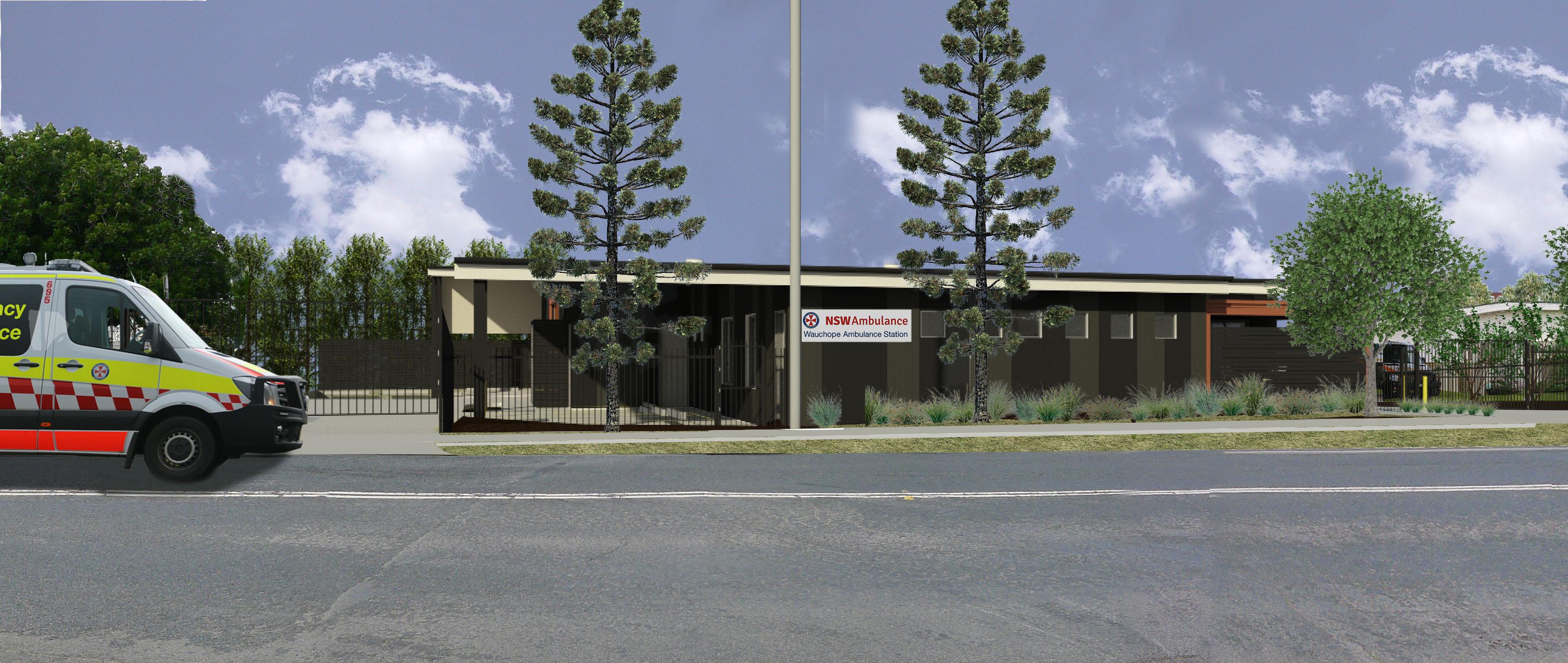 Wauchope: Work starts on new ambulance station